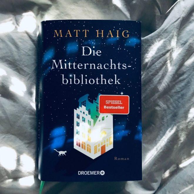 Rezension Die Mitternachtsbibliothek von Matt Haig